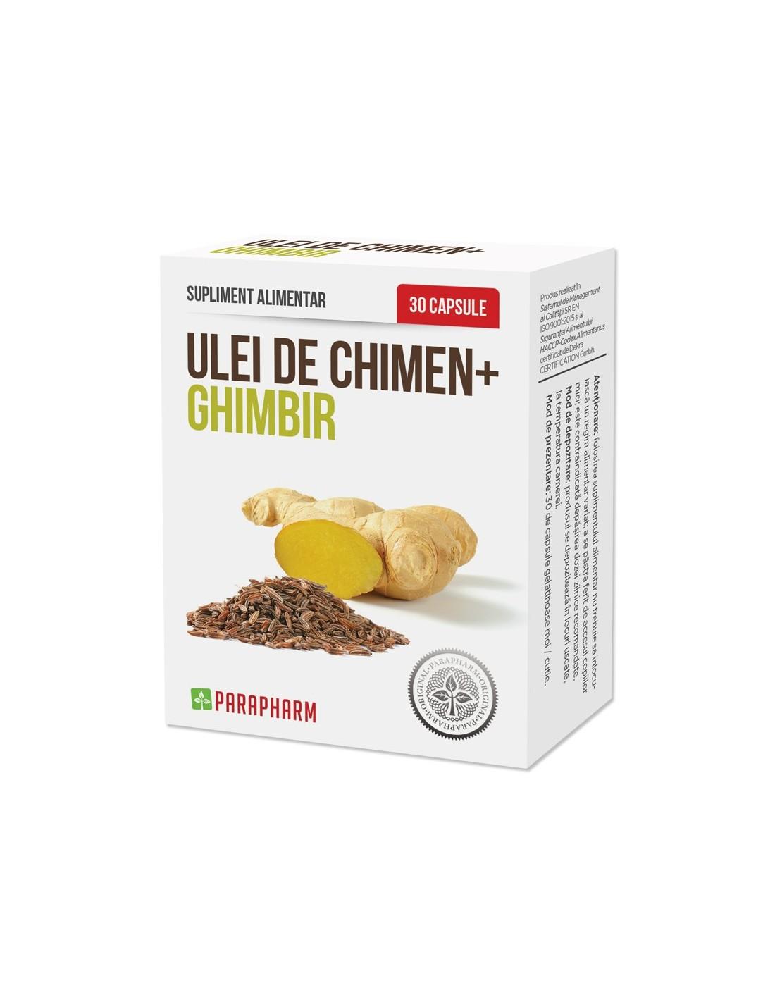 Ghimbir, 30 capsule, Bio All Green