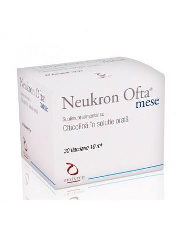 Neukron Ofta Mese 10ml, 30fiole - AFECTIUNI-ALE-OCHILOR - FARA